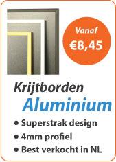 Krijtborden Aluminium