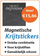 Magnetische Krijtsticker