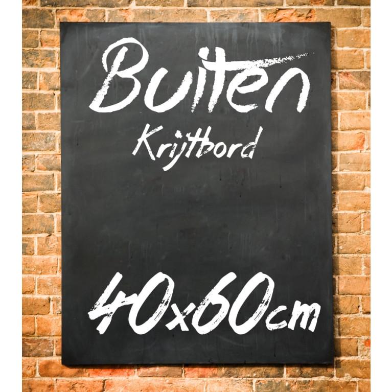 Krijtbord Buiten 40x60 cm
