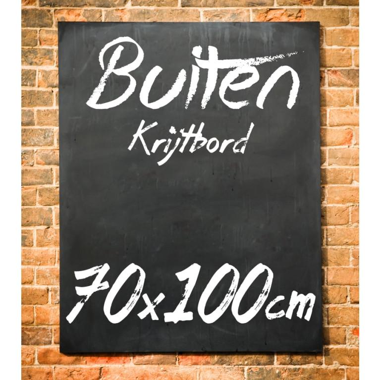 Krijtbord Buiten 70x100 cm