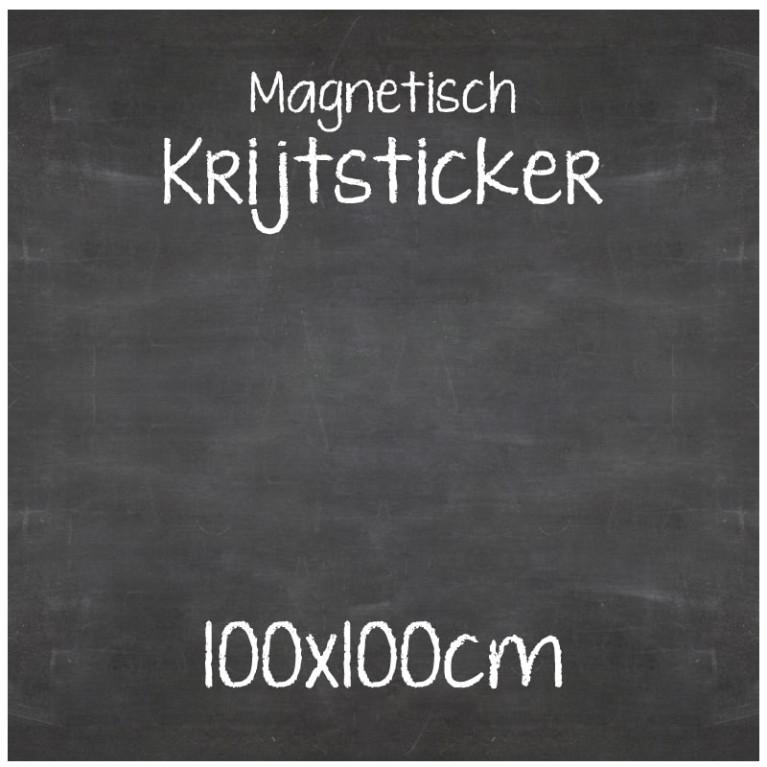 Magnetische Krijtsticker 100x100cm