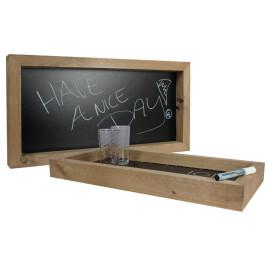 Krijtbord steigerhout decor 30x60