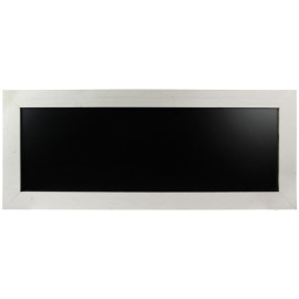 Krijtbord Steigerhout Wit 40x100cm