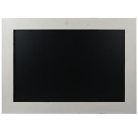 Krijtbord Steigerhout Wit 50x70cm