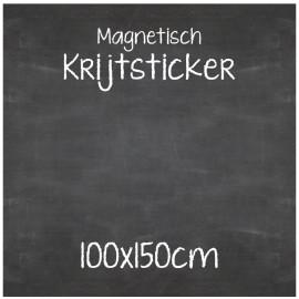 Magnetische Krijtsticker 100x150cm