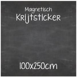 Magnetische Krijtsticker 100x250cm