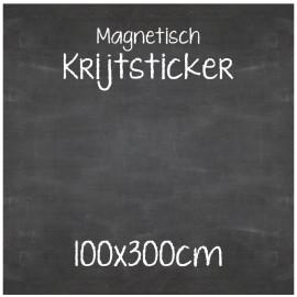 Magnetische Krijtsticker 100x300cm