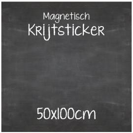 Magnetische Krijtsticker 50x100cm