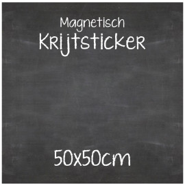 Magnetische Krijtsticker 50x50cm