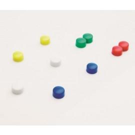 Memomagneten 10 stuks kleuren 10mm