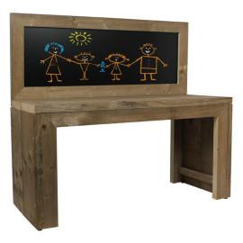 Kinder krijtbord speeltafel